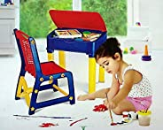 Nilkamal Apple Junior's Study Table Set - Red And
