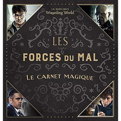 Le monde des sorciers de J.K. Rowling 'Les Forces du Mal' Le carnet magique