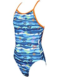 Jaked Girls Waves Swimsuit - Blue Size 6Y