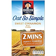 Quaker Avena So Simple Sweet Cinnamon 10 x 33g