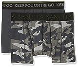 Sanetta Jungen Boxer Shorts, 2er Pack