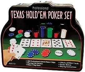 Texas Hold'em Poker Set - 206 pieces by Texas Hold'em Poker