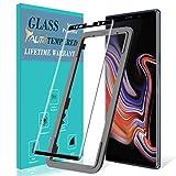 TAURI Schutzfolie Panzerglas für Samsung Galaxy Note 9[Einfache Installation des Ausrichtrahmens] [Volle Abdeckung] [9H Härte] Gehärtetem Glas Panzerglas Hartglas Displayschutzfolie - Schwarz