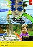 Adobe Photoshop Elements 2019 & Premiere Elements 2019 | Student & Teacher | PC/Mac | Disc