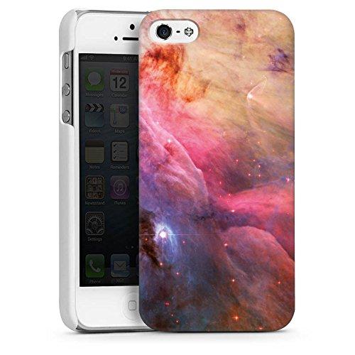 Apple iPhone 4 Housse Étui Silicone Coque Protection Galaxie Espace LL Ori et le brouillard Orion CasDur blanc