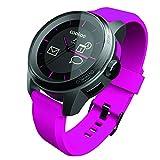 Cookoo Reloj SmartWatch Bluetooth 4.0 Negro/Rosa para iPhone,iPad,iPod Touch (iOS 5/iOS 6)