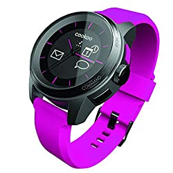 Cookoo Watch - Black On Pink - Bluetooth Smart Bluetooth 4.0 (Ckw-kp002-01)
