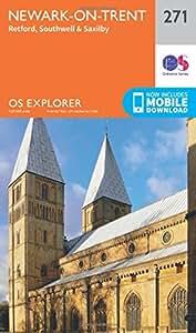 OS Explorer Map (271) Newark-on-Trent (OS Explorer Paper Map) (OS Explorer Active Map)