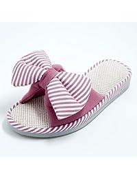 mhgao hombre zapatillas en casa interior Zapatillas de ocio de imitación de cuero, 1, 40