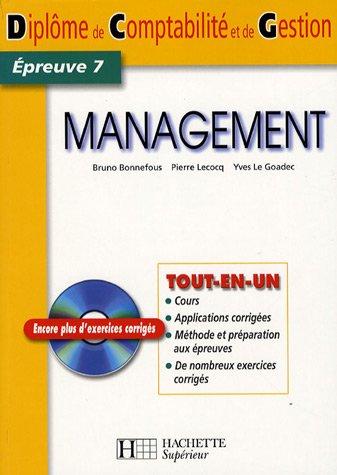 Management DCG7 (1Cédérom)