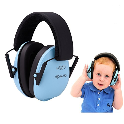 Baby Gehörschutz Ohrmuscheln für Kinder unter Für 3 Monate bis 12 Jahre - Lärmschutz Ohrschutz für Kleinkind Kind, Blau
