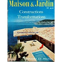 MAISON ET JARDIN [No 70] du 01/08/1960 - CONSTRUCTION ET TRANSFORMATIONS - TERRASSES ET PISCINES.