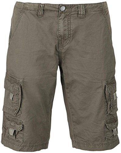 R.E.D. by EMP Cargo Shorts Pantaloncini Vintage verde oliva XXL