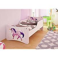 Preisvergleich für Best For Kids Kinderbett mit Schaummatratze mit TÜV Zertifiziert 90x200 cm