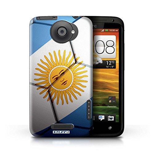 Kobalt® Imprimé Etui / Coque pour HTC One X / Italie/Italien conception / Série Nations de Football Argentine