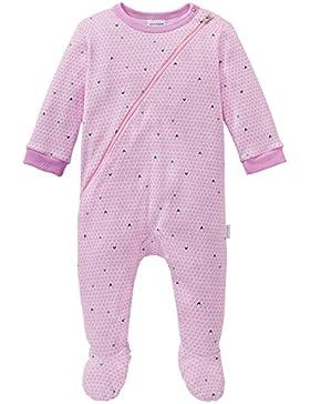Schiesser Baby-Mädchen Zweiteiliger Schlafanzug Puppy Love Anzug mit Fuß