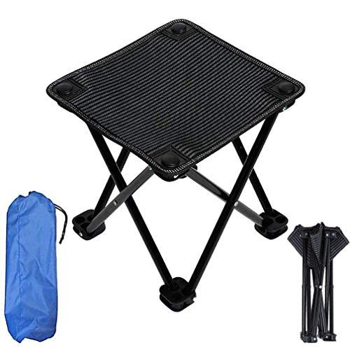 Beweglicher kampierender Stuhl, faltender kampierender Rucksack-Stühle Hochleistungs-£ 220 mit der Tragetasche einfach, die für im Freien aufgefüllt wird, Rasen, Garten, leichter Aluminiumrahmen,B