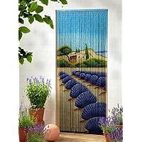 Leguana - Cortina para puerta de bambu dekovorhang lavanda