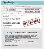 Comedy Shirts - WUNSCH - Herren Hoodie - Navy / Weiss Gr. M -