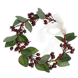 Lurrose Corona de flores corona