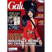 GALA [No 899] du 01/09/2010 - ALAIN DELON / TOUT POUR PROTEGER SON FILS - BRITNEY - LILY - AMY / LES BAD GIRLS S'EMBOURGEOISENT - JULIO IGLESIAS EPOUSE ENFIN MIRANDA - SPECIAL MODE - CLOTILDE COURAU AU CRAZY HORSE