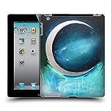 Head Case Designs Offizielle Mai Autumn Silber Mond Garten Weltraum Und Himmel Ruckseite Hülle für iPad 2 (2011)