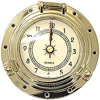 Vosarea Retro-Uhr mit Quarzuhrwerk für Yacht RV