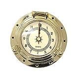 Vosarea Retro Rome Style Quartz Clock Fahrzeugmodifikation Versorgung für RV Yacht (Golden)