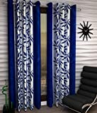 #1: Geonature Window Eyelet curtains set of 2 (4x5 Feet)