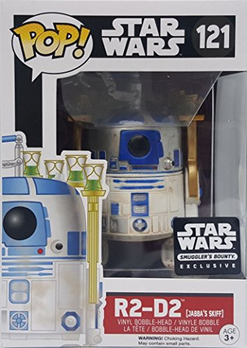 Funko Star Wars Pop! R2-D2 Jabba's Skiff #121 Vinyl Bobble-Head Figure (Smuggler's...