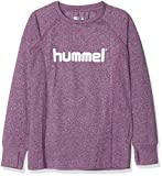 Hummel Mädchen HMLPUTTE T-Shirt L/S, Grape Juice, 104