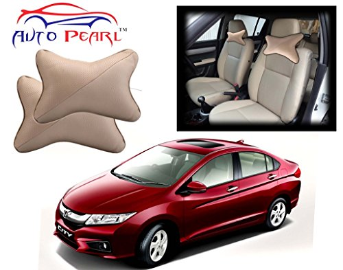 auto pearl - premium make beige car neck cushion/neck pillow for honda city idtec Auto Pearl – Premium Make Beige Car Neck Cushion/Neck Pillow for Honda City Idtec 515f6l hlyL