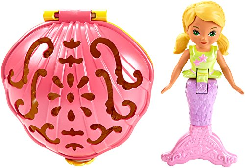 Fisher-Price - Dora and Friends - Sirène Alana - Mini-Figurine 10cm et Coquillage