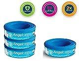 Angelcare Windel Nachfüllung Kassetten entsorgung system Wickel Schlafsäcke Säcke - 3