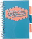 Pukka Pad Project Book Neon Notizbuch A4 - Blue