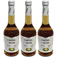 Choya Silver Choya Silver (Bebida Que Contiene Vino, Fruta Ume, Vino De Ciruela Japonesa, Afrutado, Dulce, 10% Vol.) - 3 Paquetes de 500 ml - Total: 1500 ml