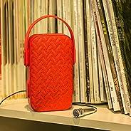 ايبيمي MY220BT مكبر صوت بلوتوث مع ميكروفون خارجي - احمر