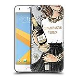 Head Case Designs Funkelndes Champagne Wein Fest Ruckseite Hülle für HTC One A9s