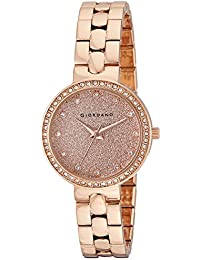 Giordano Analog Rose Gold Dial Women's Watch - A2068-44