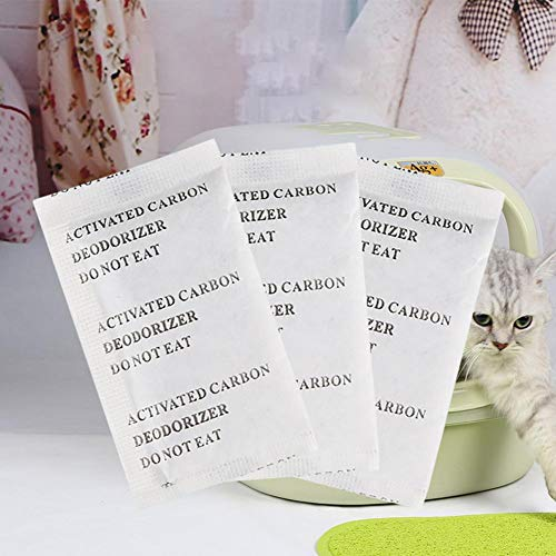 Zhichu Katzenstreu Deofilter Carbon Toilette Spezial Deo Carbon Paket Aktivkohle -