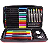 Best US Art Supply Kids Markers - Joan Miro Kids Art Set Washable Crayons Watercolor Review
