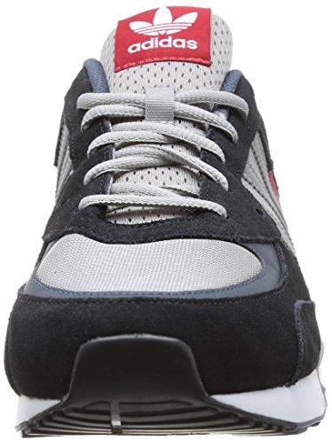 Adidas, ZX 850, Scarpe Sportive, Uomo Cblack/Silvmt/Powred