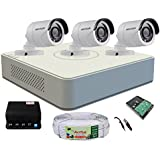 Active Feel Free Life hikvision CCTV Security System, Combo Kit