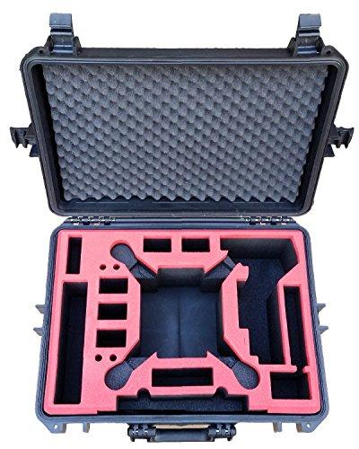 Koffer / Transportkoffer von MC CASES passend für DJI Phantom 2 Vision und Vision Plus vorgefertigt - Ready to use - Platz für 6 Akkus ... - 2