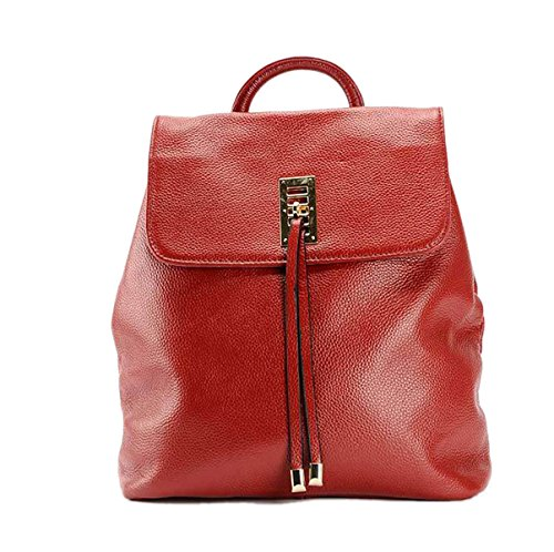 Woman-PU-new-Style-Fashion-Simplicity-Travel-Solid-Colors-High-end-Classic-Portable-Backpack