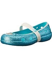 Crocs Frozen - Bailarinas de sintético para niña