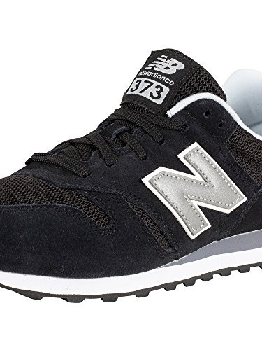 New Balance 373 Modern Classics Shoes - Black/Silver/Grey