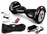 Viron Balance Scooter 800 Watt Crossrover mit App Funktion, 10 Zoll Bereifung, Bluetooth Lautsprecher, Kinder Sicherheitsmodus, Elektro Self Balance E-Scooter GPX-03 SUV