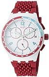 Swatch Herren Analog Quarz Uhr mit Silikon Armband SUSM403