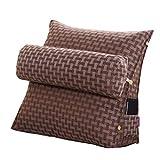 SHU-A Sofa Kissen Büro Nackenkissen Soft Pack Bett Kissen Multifunktions-Dreieck Kissen, Arbeitsleben, um Ihnen Komfort und Entspannung (größe : L:Length:50cm)